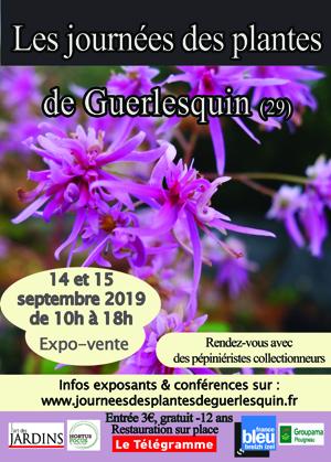 Journées des plantes Guerlesquin - 2019