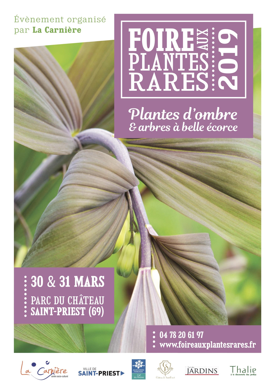 Foire plantes rares St priest 2019